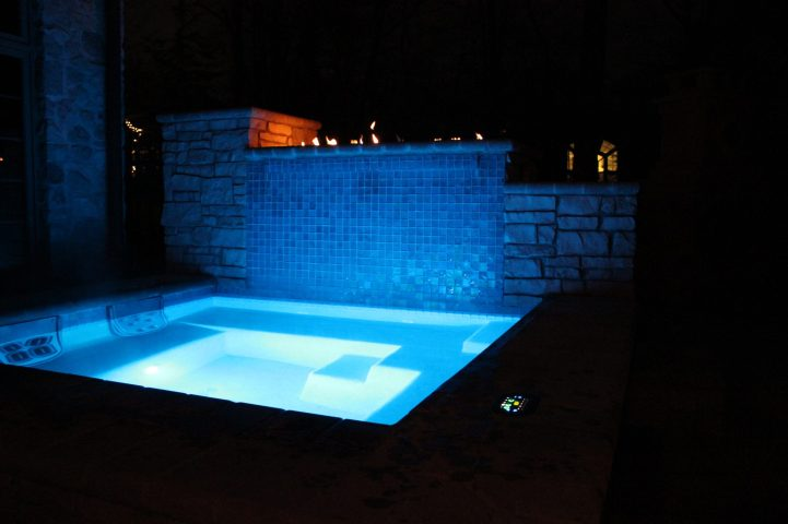 Fire-Water wall Spa