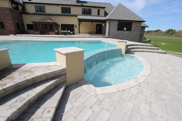 Large Pool and Small Pool