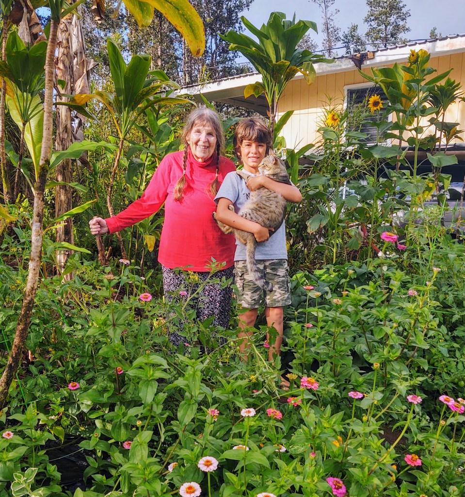 Joy & Hoku garden 2020