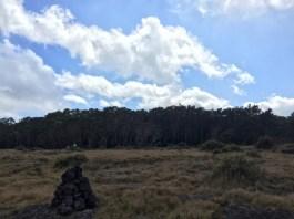 Pu`u `O`o trail on Mauna Loa