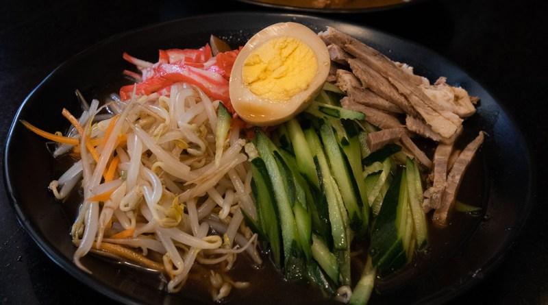 hiyashi chuka or cold ramen from Kunia Shopping Center Ohana Ramen