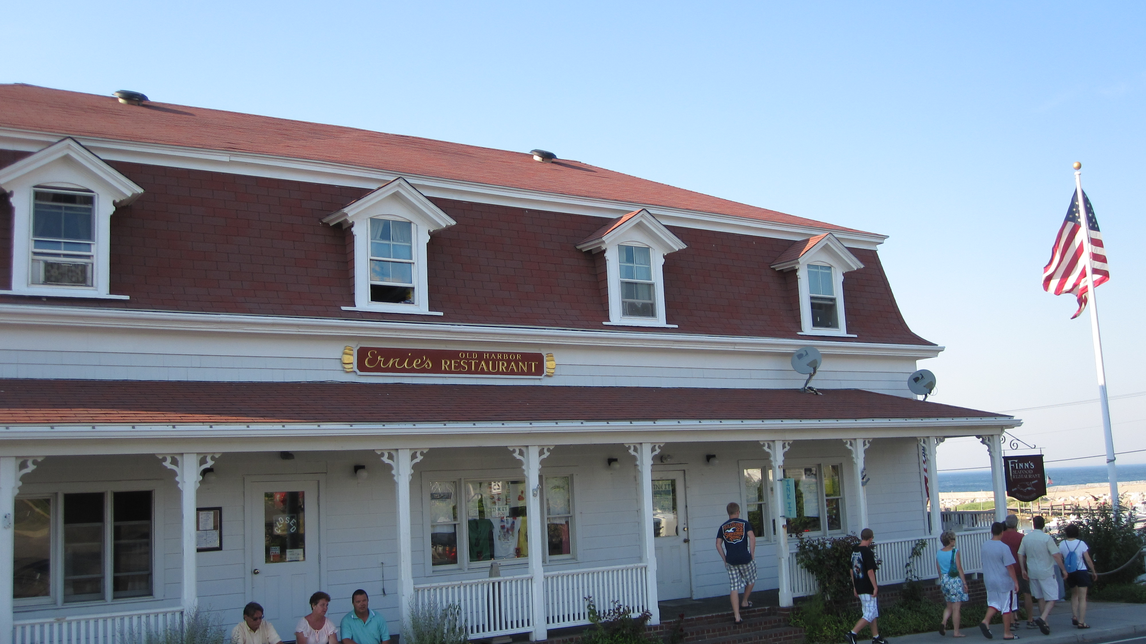 Ernie's Old Harbour Restaurant on Block Island