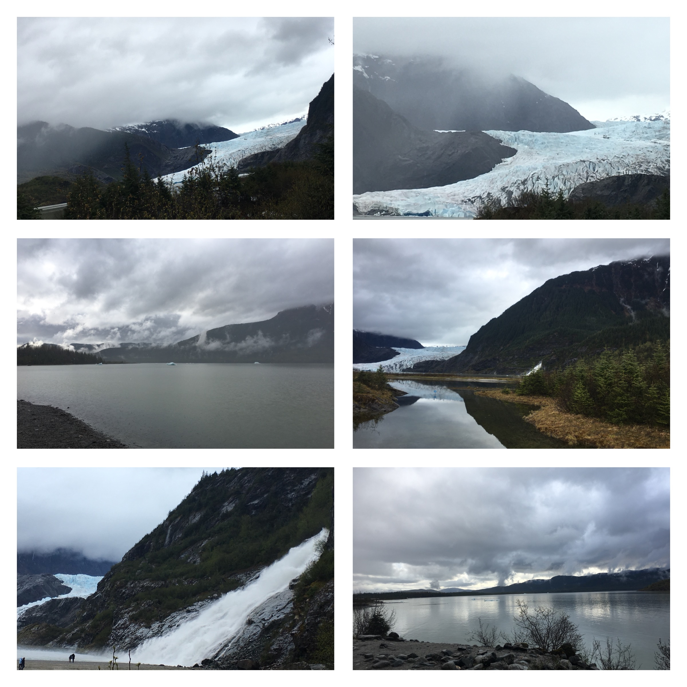 Our Alaska Cruise: Mendenhall Glacier