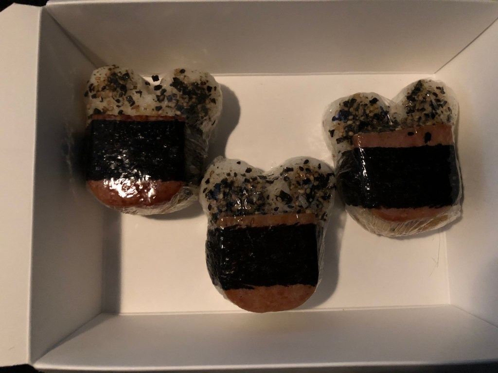Musubis from Ulu Cafe