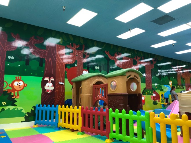 Toddler Area of the Funtastic KidZone