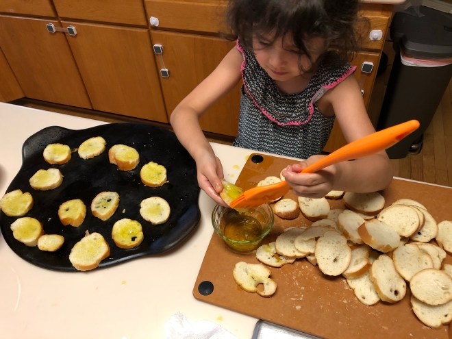 Raddish Kids: Brushing on EVOO