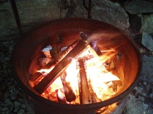 Blazing Fire Pit