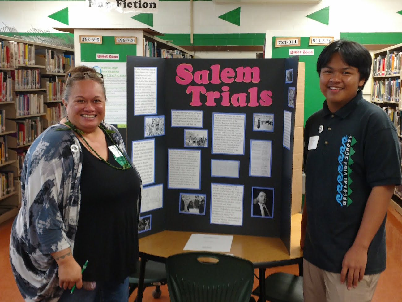 Hawaii History Day Salem Trials Presentation