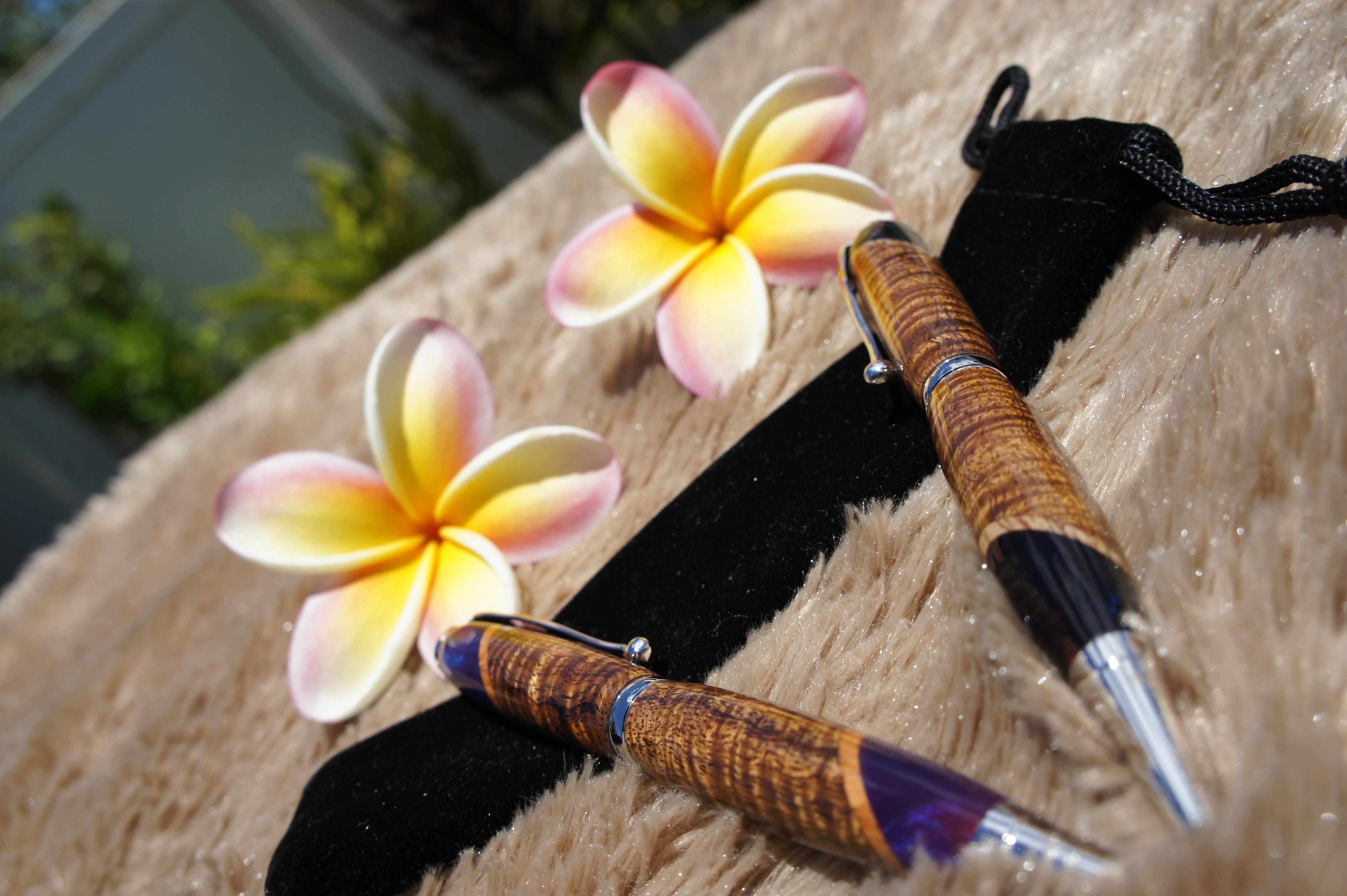 Hawaiian Koa Pen