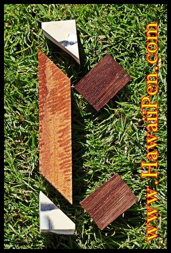 Koa Wood Pen Kit