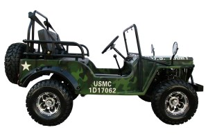 Coolster Jeep Willys 125cc Automatic GoKart