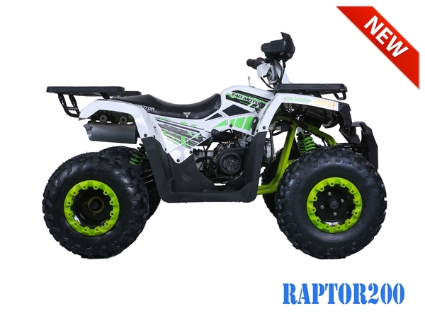 Tao Motor RAPTOR200 ATV by Hawaii Powersports