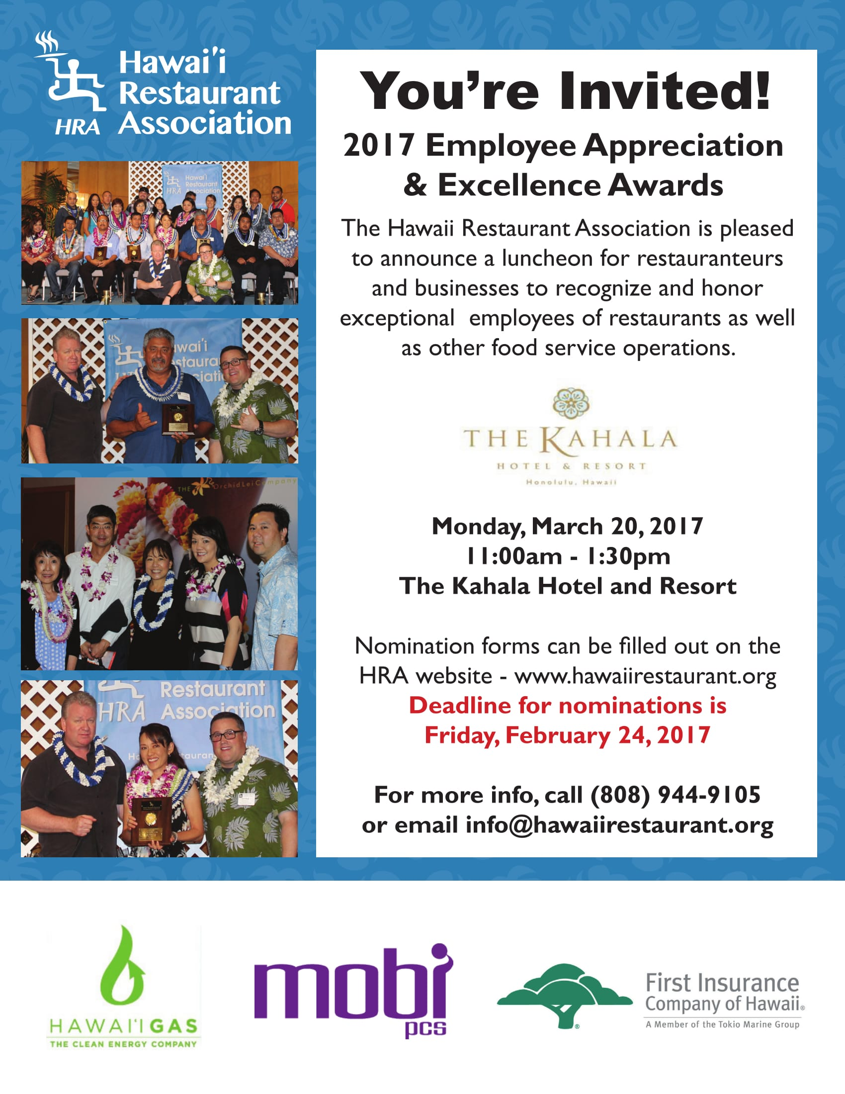 employee appreciation flyer