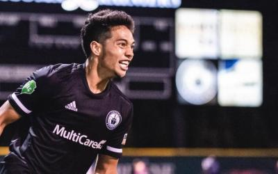Seattle Sounders Sign Hawaii Rush's Shandon Hopeau to a First Team Contract!