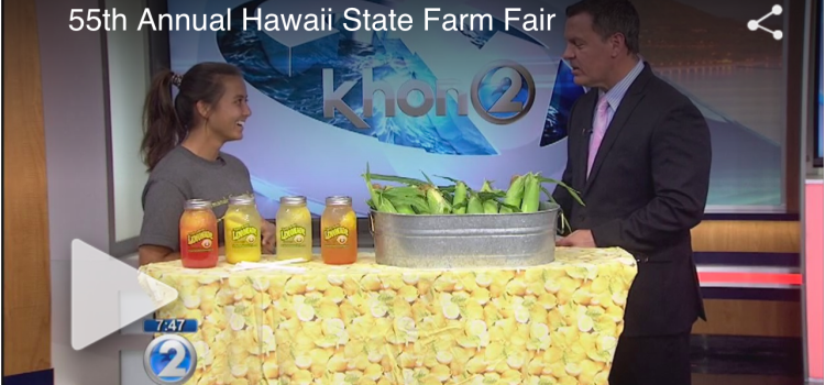 KHON2: Get ready for the Hawaii State Farm Fair