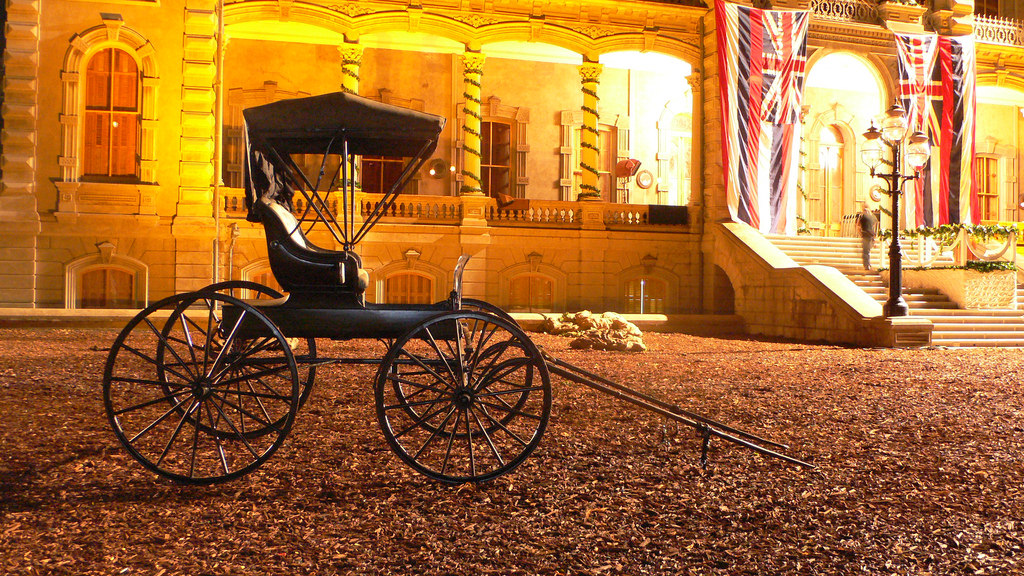 Queen Liliuokalani Palace Inside 'Iolani Palace State M...