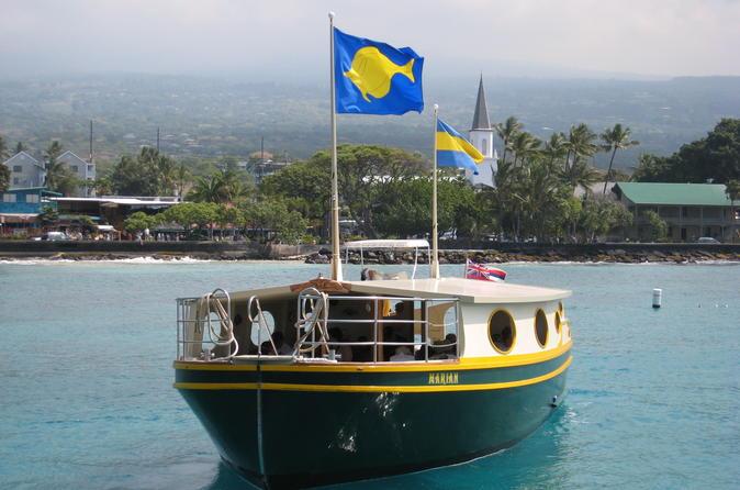 Glassbottom Boat Reef Tour on Hawaii