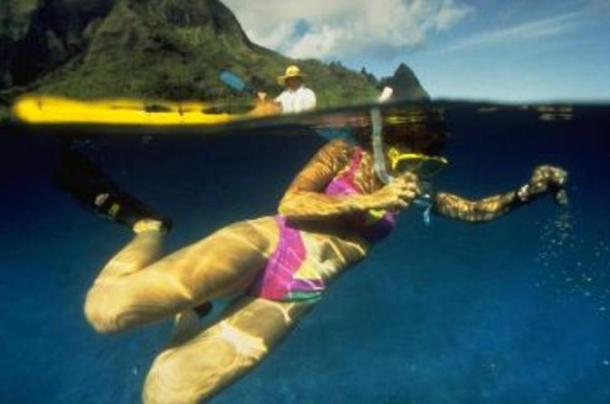 Hanalei Bay Kayak and Snorkel Tour on Kauai