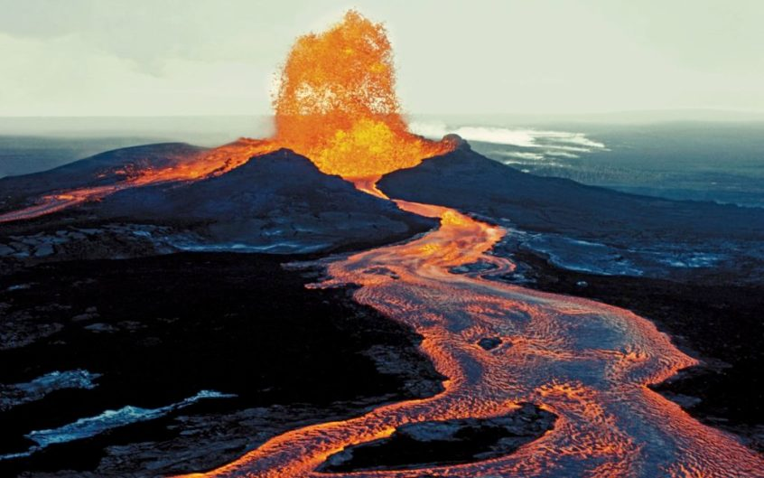 fly over a hawaii volcano for a unique hawaii experience
