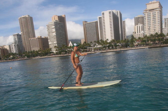 Paddleboarding Lessons - Group Lesson - Waikiki on Oahu