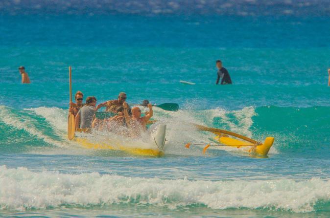 Outrigger Canoe Ride on Oahu