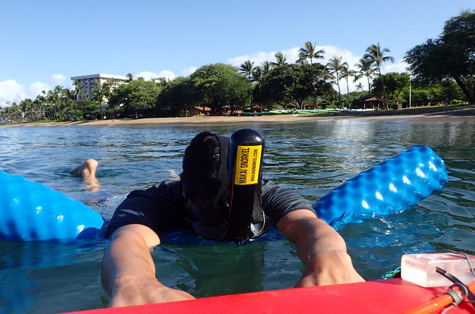 Private Snorkel Experience for Beginner Swimmers on Maui