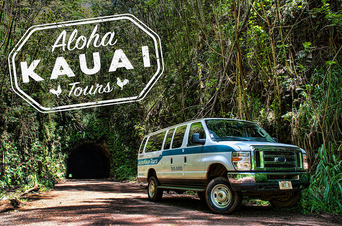 Rainforest 4x4 Van Tour and Hiking Adventure on Kauai