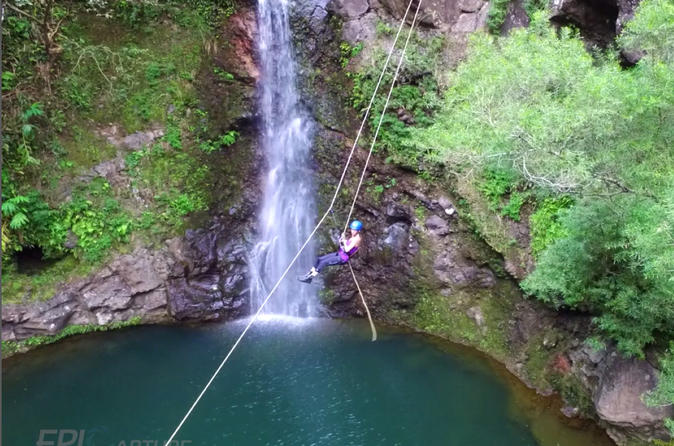 Extreme Zip Rappel Tour on Maui