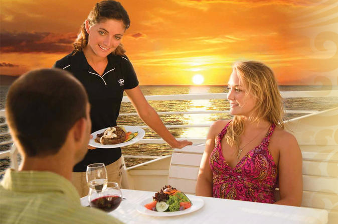 Sunset Dinner Cruise: Four Course Dining Experience on Maui