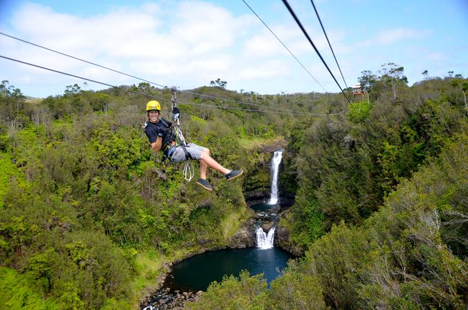 Zip n' Swim- Zipline and Private Waterfall Swim on Hawaii