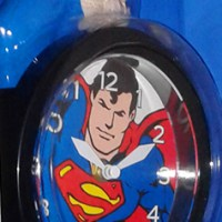 Toysmith Superman 3D Motion Clock (2013)
