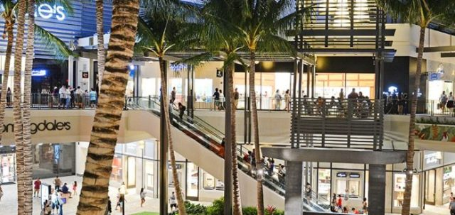 Ala Moana Center in Hawaii