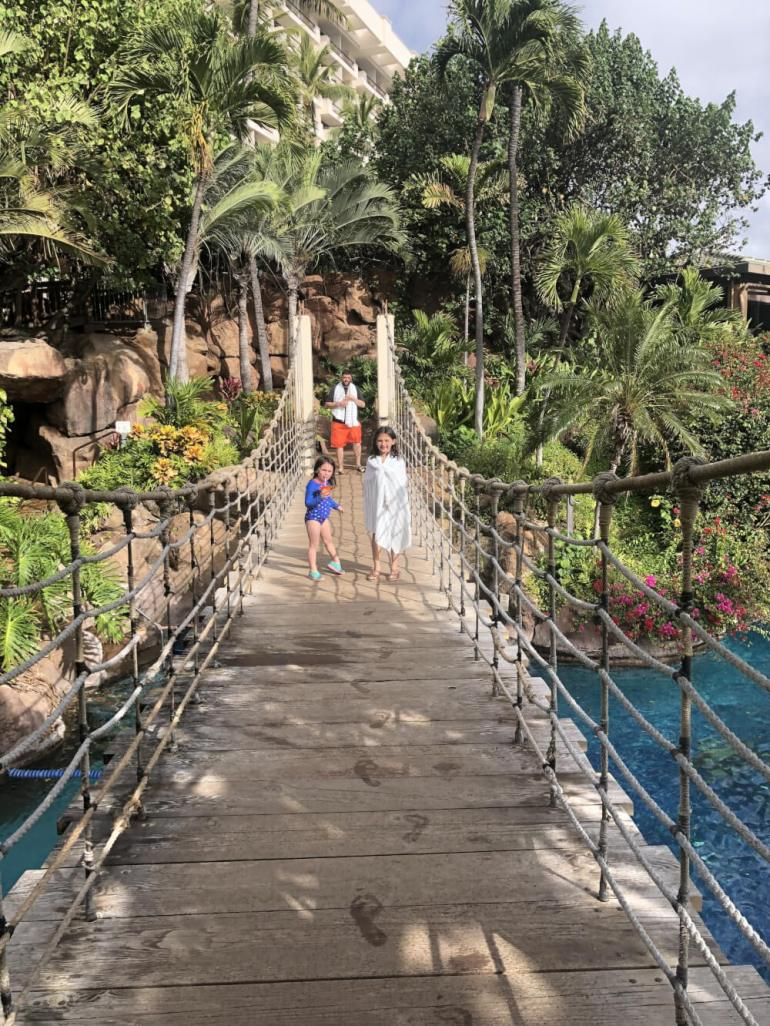 3 Day Maui Itinerary with Kids featured by top Hawaii travel blog, Hawaii Travel with Kids: The Hyatt Regency Maui is a kid-friendly Maui hotel with fun swimming pools