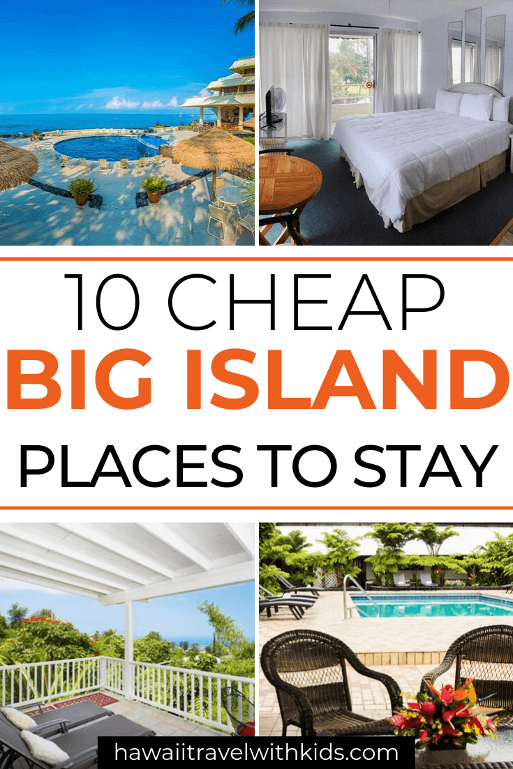 Hawaii on a Budget: Top 10 Cheap Big Island Hotels featured by top Hawaii travel blog, Hawaii Travel with Kids: Heading to the Big Island on a budget? Find out 10 cheap places to stay on the Big Island that won't break the bank. Stay in Hilo, Kona, near Kilauea Volcanos, and top Big Island Hawaii attractions.