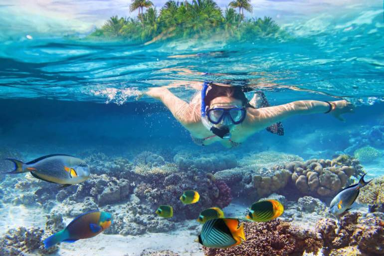 Top 9 Places for the Best Snorkeling on Kauai featured by top Hawaii travel blog, Hawaii Travel with Kids: Find out the best Kauai snorkeling spots