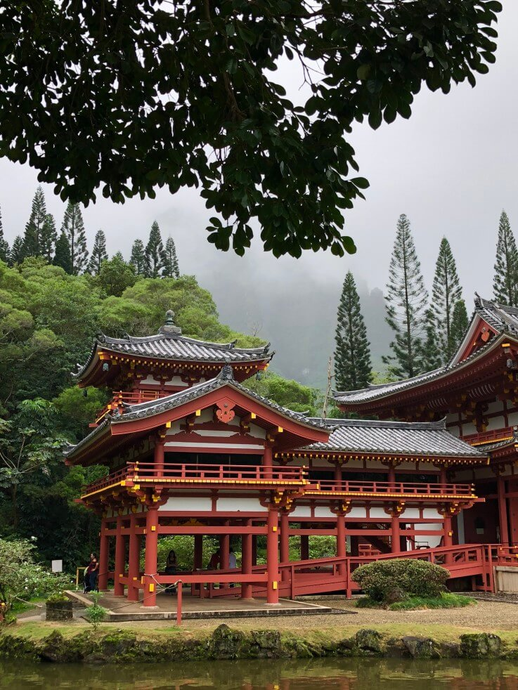 The Byodo-In Temple is a popular Oahu photography spot.