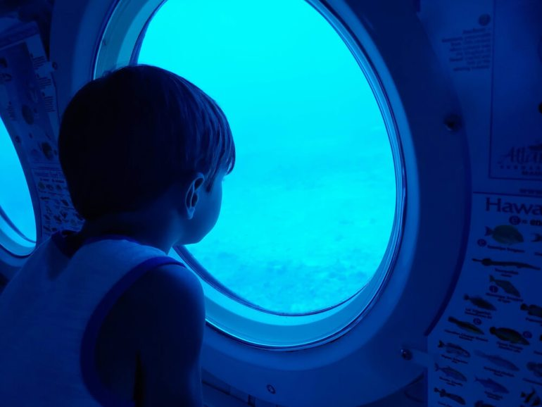 Things to Do on Maui: Atlantis Submarine Tour featured by top Hawaii blog, Hawaii Travel with Kids | The Atlantis Submarine Tour is a fun thing to do on Maui with kids