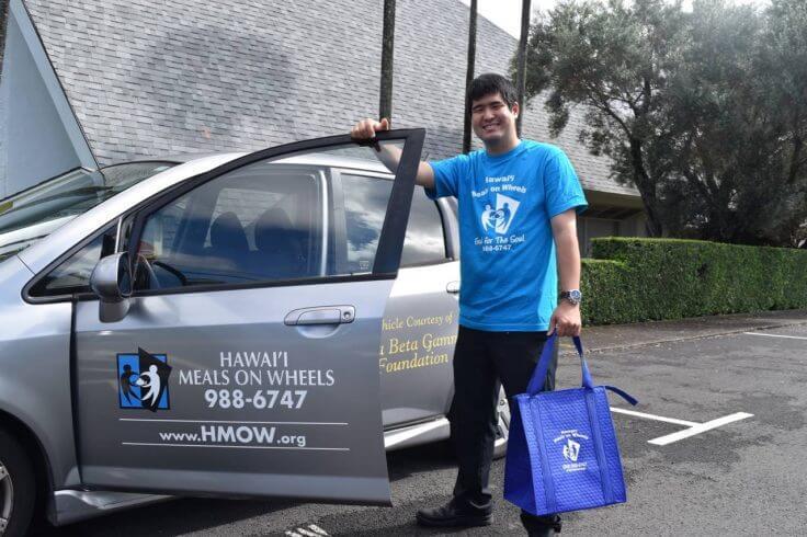 Holiday volunteer opportunities in Hawaii for families featured by top Hawaii blog, Hawaii Travel with Kids: Hawaii Meals on Wheels, Oahu, Hawaii