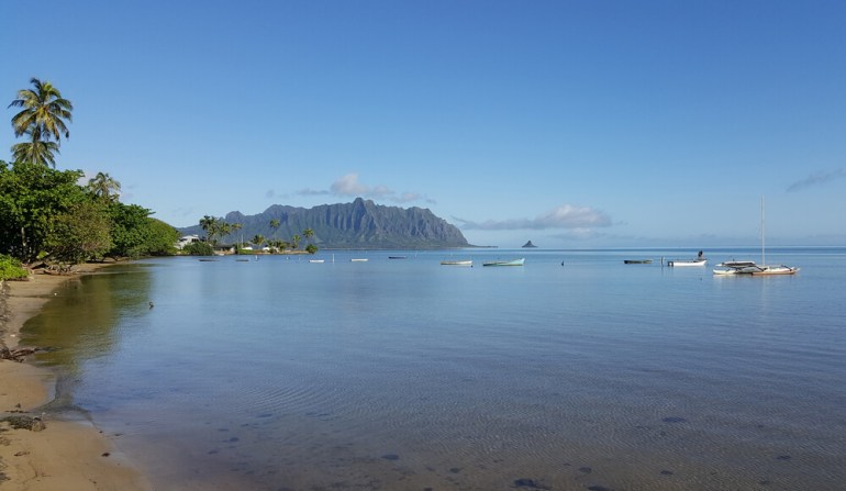 The ultimate guide to Kayaking on Oahu featured by top Hawaii blog, Hawaii Travel with Kids: Kaneohe Bay on Oahu