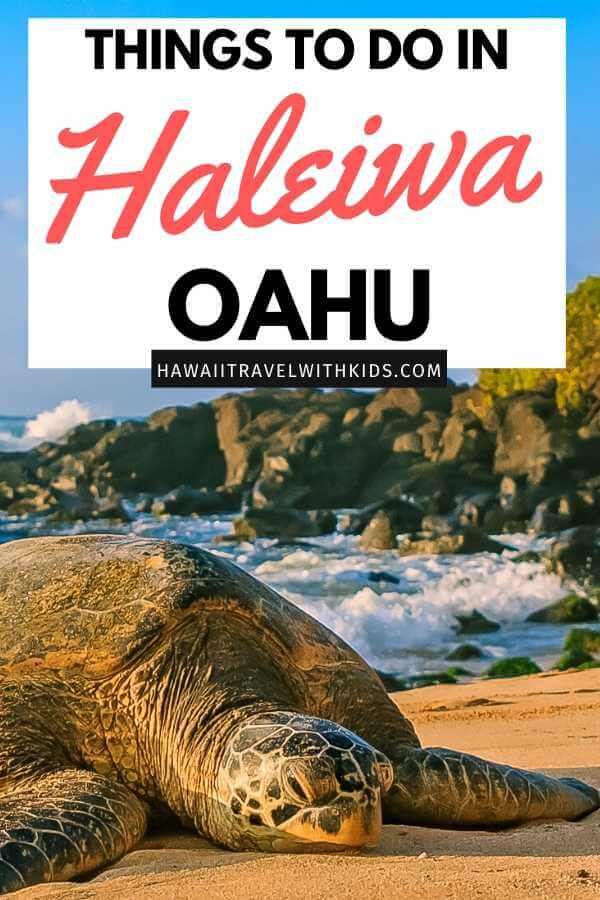Best things to do in haleiwa oahu, featured by top Hawaii blog, Hawaii Travel with Kids.