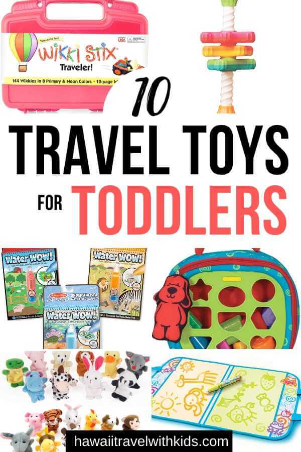 Top 10 Best Travel Toys for Toddlers on Amazon featured by top Hawaii travel blog, Hawaii Travel with Kids