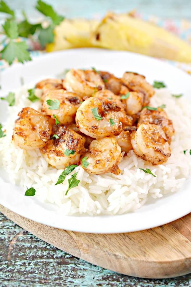 Hawaiian Garlic Shrimp Recipe