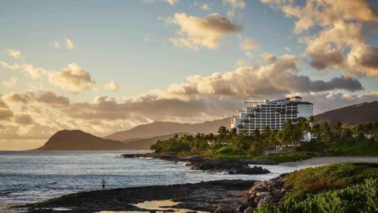 Top 8 Romantic Oahu Honeymoon Resorts featured by top Hawaii blog, Hawaii Travel with Kids: Four Seasons in Ko Olina Oahu