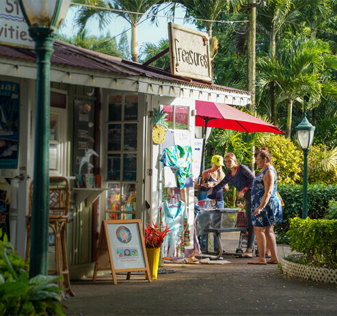 Top 25 Things to do in Poipu, Kauai featured by top Hawaii blog, Hawaii Travel with Kids: Old Koloa Town on Kauai