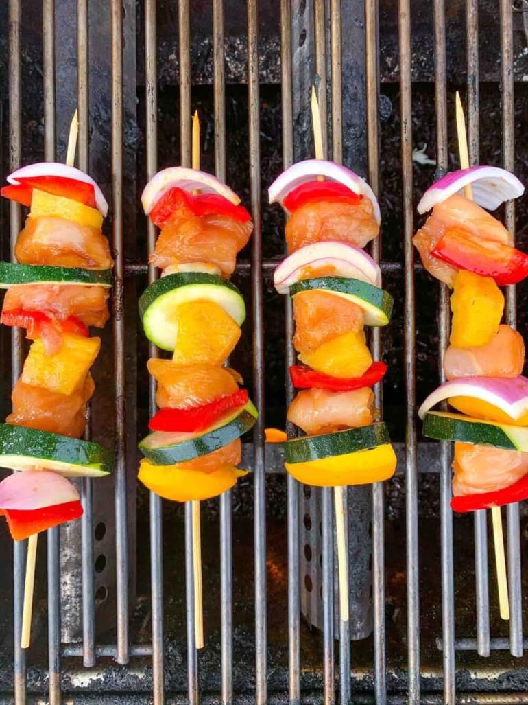 Hawaiian Pineapple Chicken Skewers Recipe by Top Hawai Blog Hawaii Travel with Kids