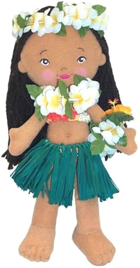 Hawaiian toys and Hawaiian gifts for kids by top Hawaii blogger Hawaii Travel with Kids: Hawaii souvenir doll