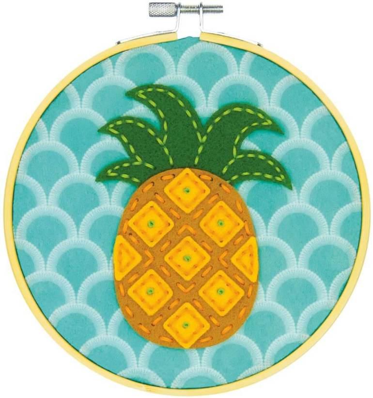 Hawaiian toys and Hawaiian gifts for kids by top Hawaii blogger Hawaii Travel with Kids: pineapple needle craft