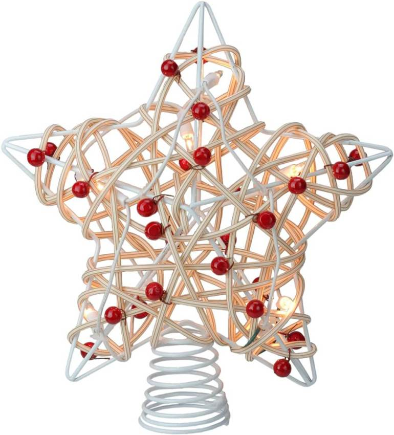 Best Hawaiian Christmas Decorations featured by top Hawaii blogger, Hawaii Travel with Kids: Add some Hawaiian Christmas decorations to your home this holiday season with these top Hawaii Christmas decorations ideas from top Hawaii blog Hawaii Travel with Kids. Image of a Christmas tree topper