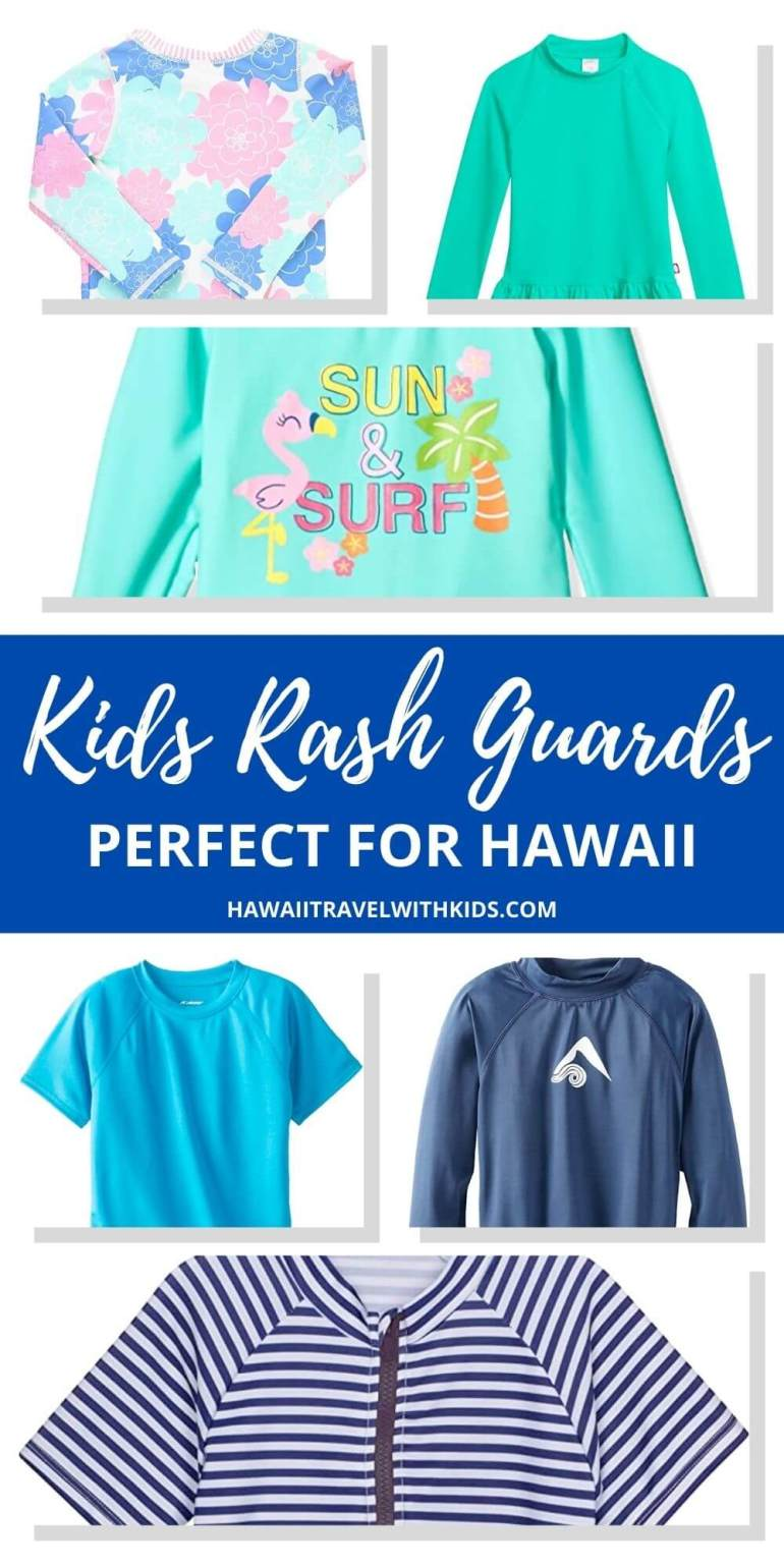 Top 10 Best Kids Rash Guard for Hawaii featured by top Hawaii blogger, Hawaii Travel with Kids