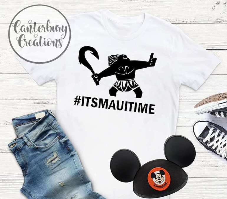 Find out the cutest Disney Aulani t-shirts to buy before your trip to Disney's Aulani Resort in Hawaii by top Hawaii blog Hawaii Travel with Kids. Moana shirt for Disney Aulani Resort in Hawaii